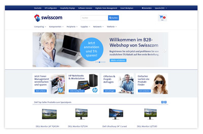 ProLead by ProSeller: Success Story Swisscom B2B Webshop